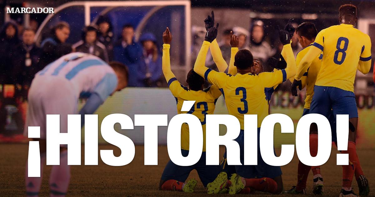 ¡Final en Buenos Aires! #Ecuador venció 2-0 a #Argentina en el Monumental. #Eliminatorias http://t.co/ookBcQ05GI