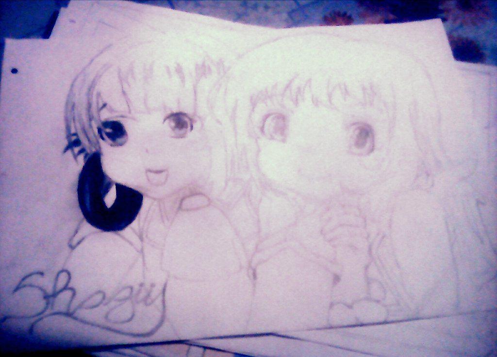 Terminando de dibujar y empezar a pintarlo n.n #Dibujosanimes ❤❤ Shagusss ❤❤ http://t.co/YRuWE9bAvF
