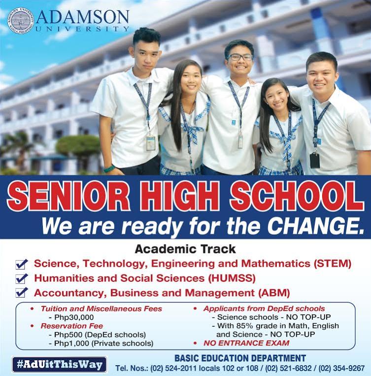 adamson university Powered by adamson university information technology center x x.