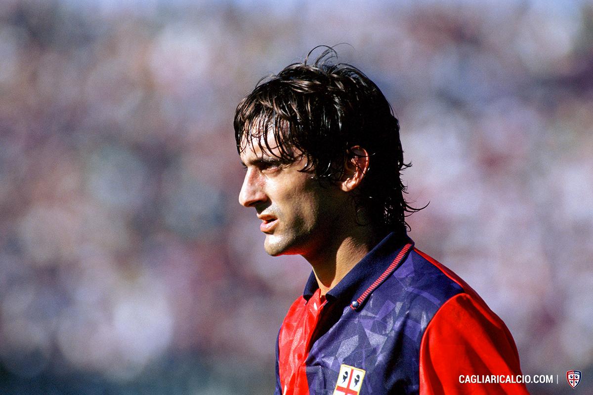 """Cagliari Calcio on Twitter """"La storia di Enzo Francescoli uno"""