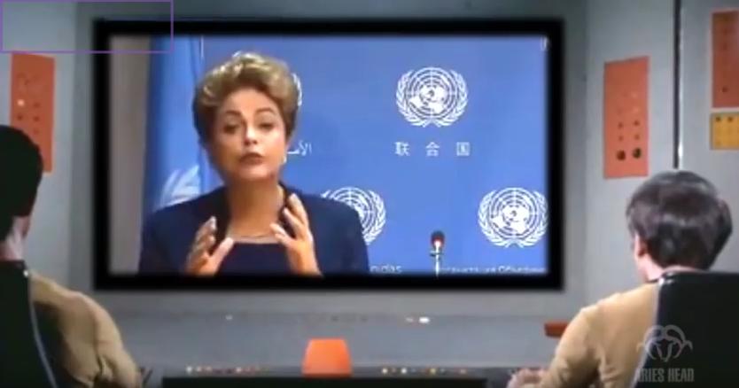 Vídeo hilário: Dilma estarrece Star Trek com discurso do 'vento estocado': http://t.co/r0OnVAZMC3