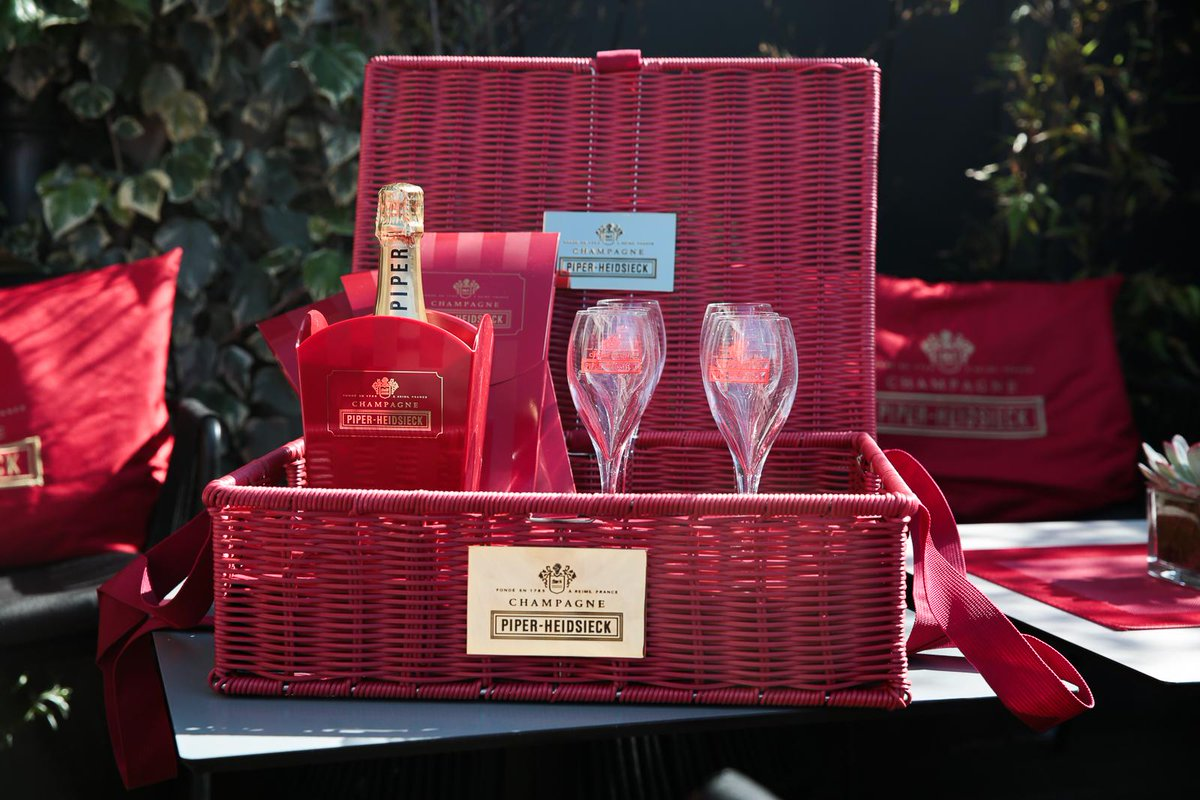 It's #FreebieFriday RT & Follow us to #WIN a @piperheidsieck Champagne basket to start the weekend off in style.
