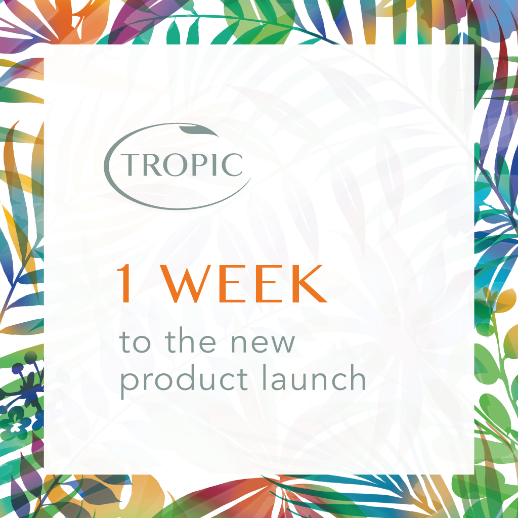 RT @TropicSkinCare: There's just ONE week to goooooo… #NewTropic #Skincare #ComingSoon http://t.co/F0twvJTLdK