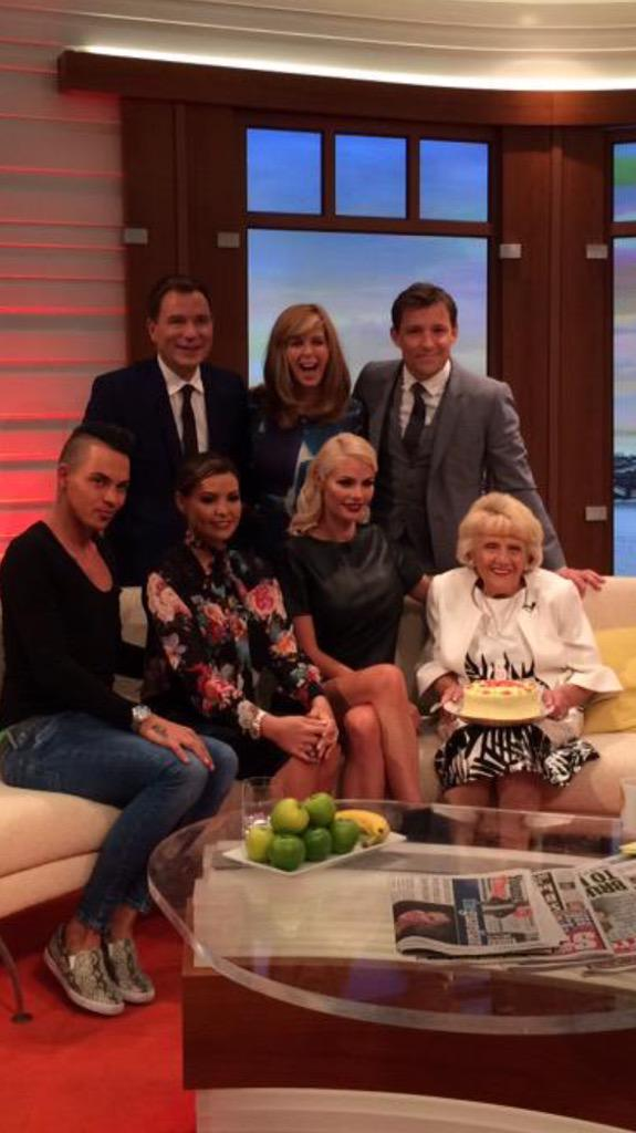 Happy 5th birthday #TOWIE ! So gr8 to see @BobbyCNorris @ChloeLewis01 @MissJessWright_ & #NannyPat on @GMB http://t.co/74CgSFw1UM