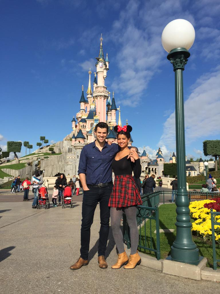 Thanks to all at @DisneyParis_EN for giving The Jackson-Jones's a magical anniversary. Endless fun! #DisneyAdults http://t.co/wMR71ATWXc