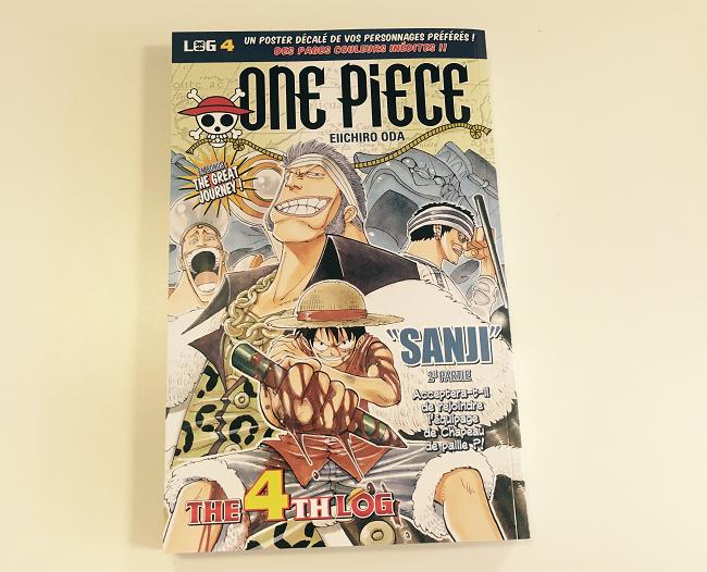 Fan de One Piece ? RT ce tweet pour tenter de gagner un LOG 4 ! Tirage au sort lundi à 14h ! #Concours http://t.co/83eGL5ln3v