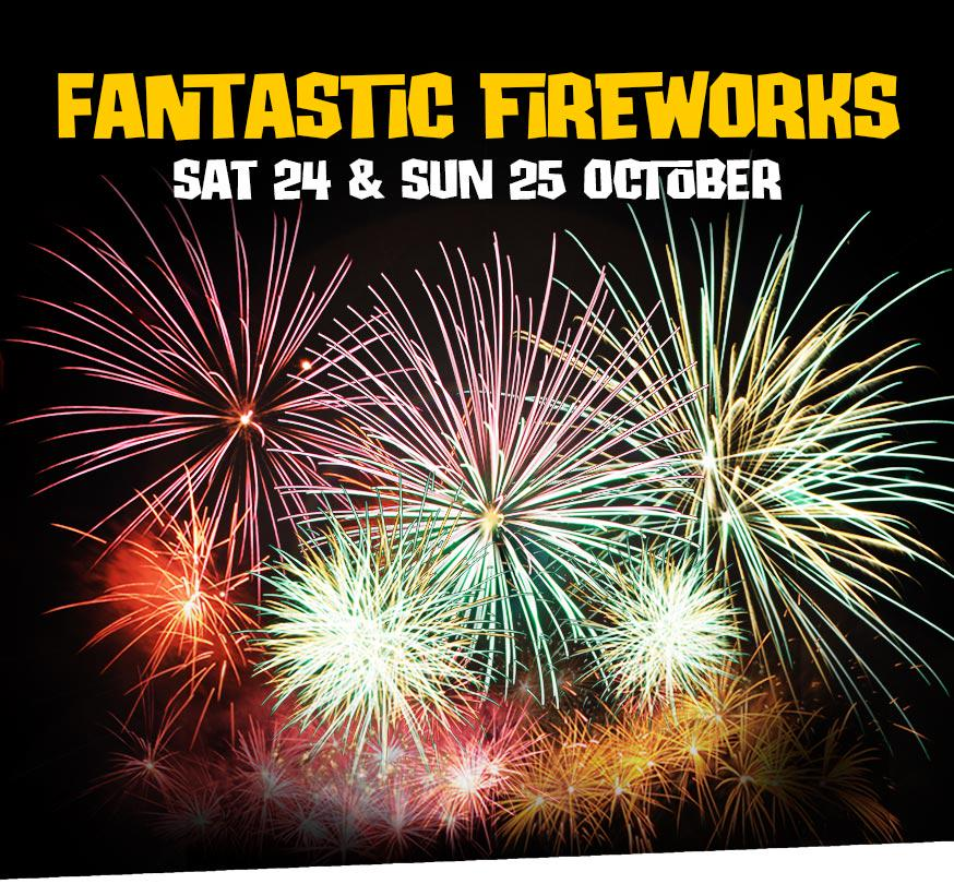 FREEBIE FRIDAY! WIN 4 tickets to our Fantastic Fireworks on Sat 24 or Sun 25 October! RT to be in with a chance. http://t.co/S4Hgrx0ylE