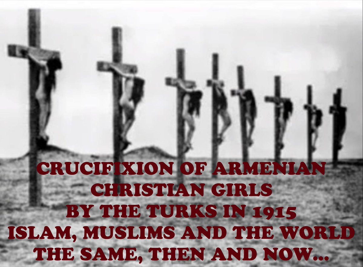 In 1915 Muslim Turks did this to Armenian Christian girls Nothing has changed  #AllLivesMatter http://t.co/m6ep9RX8nj