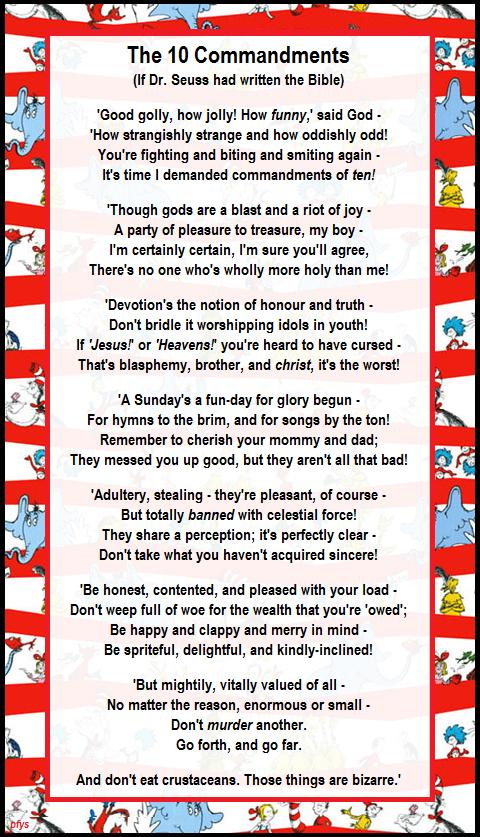 Youth devotions on the ten commandments representing the ten commandments 7 array poem for your sprog on twitter u0027the 10 commandments u0027 if dr rh twitter fandeluxe Gallery