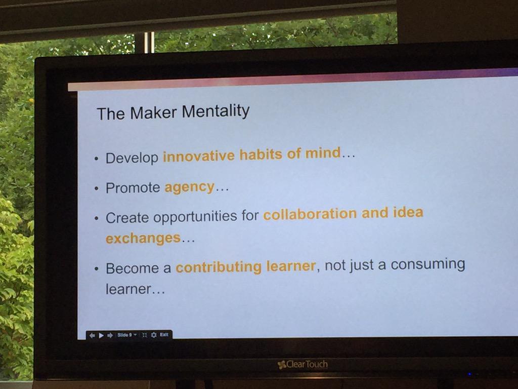 #MVCollider understanding more of the mind of been a maker http://t.co/2Xml2eOsiX