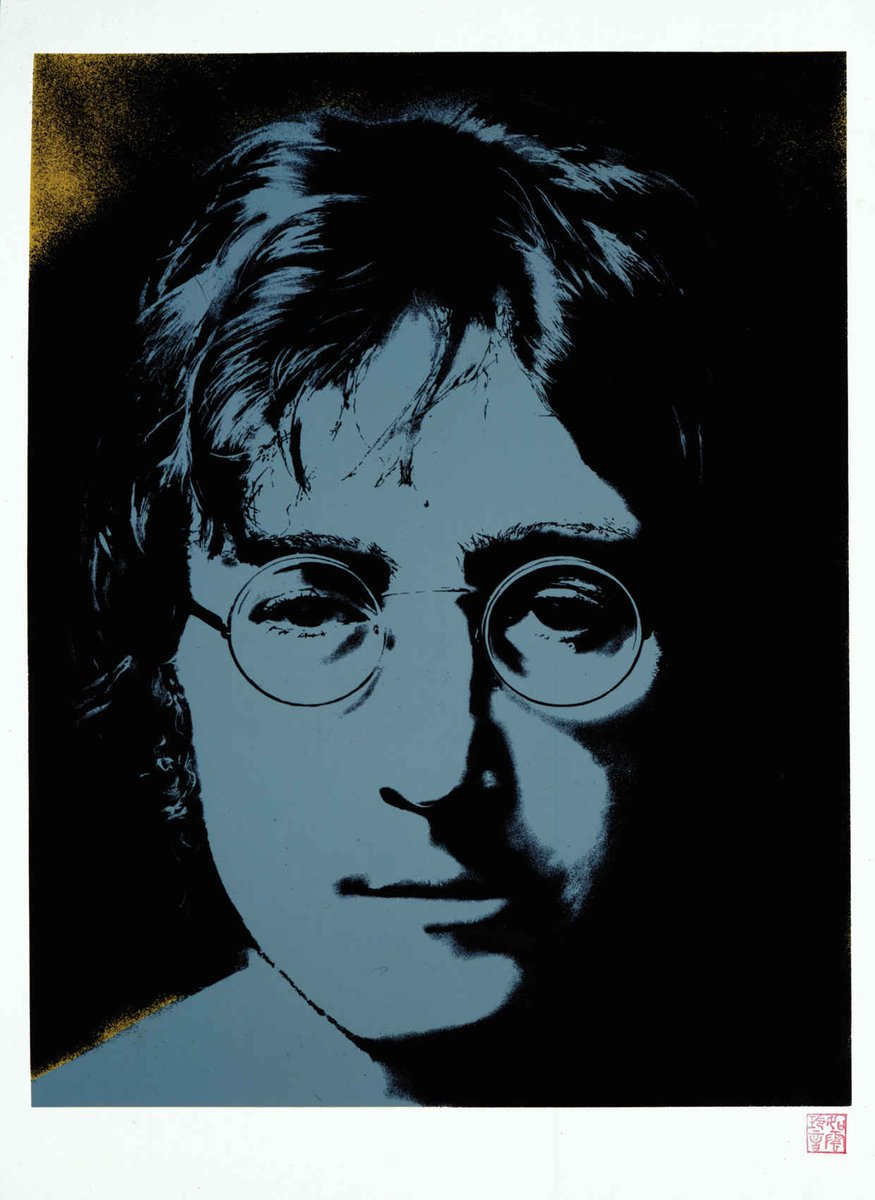 Today would have been John Lennon's 75th birthday. A Tribute to the Artist: http://t.co/XEbDO1uPAQ @thebeatles http://t.co/ZAwF5Sgu7m