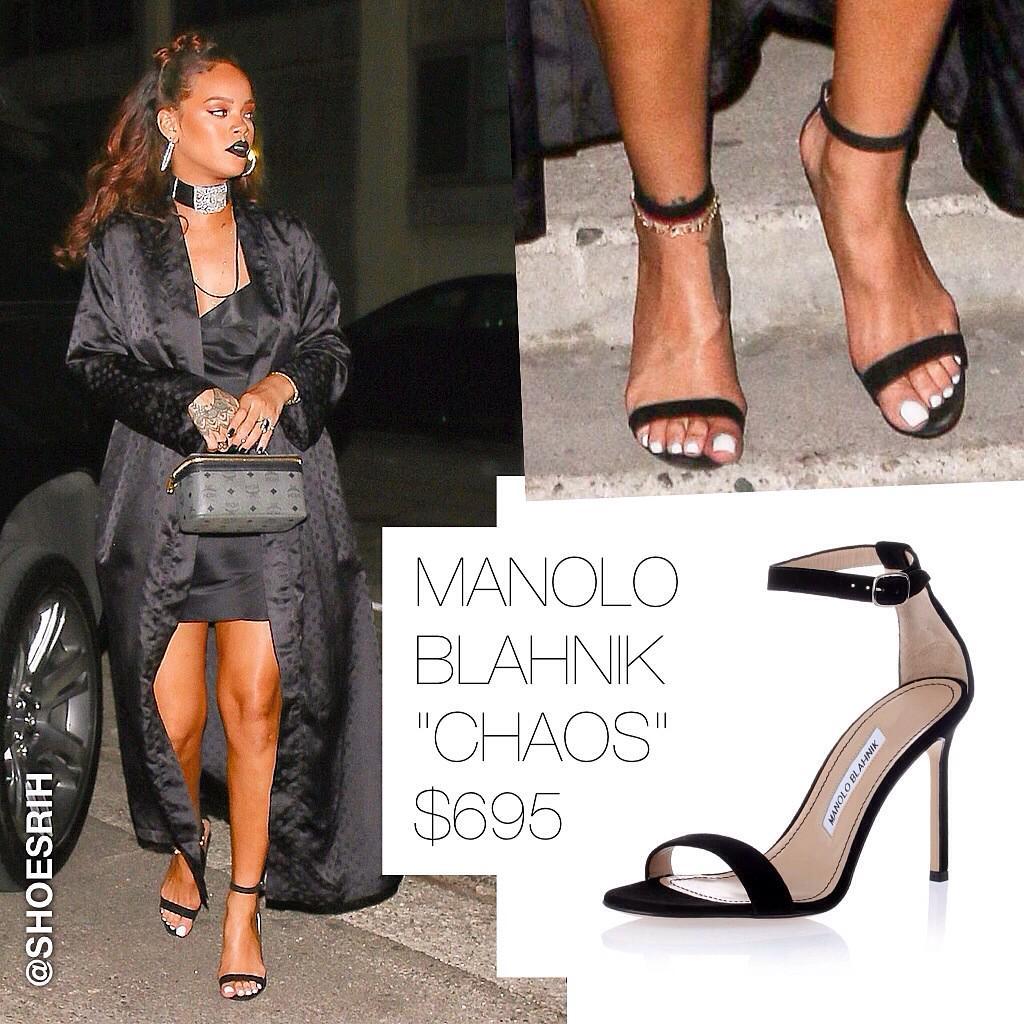 826cf7b698a40 Manolo Blahnik black suede