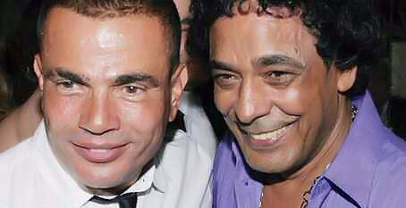 """عمرو دياب لـ""""منير"""" في عيد ميلاده: كل سنة وأنت قوي زي ما عودتنا يا كينج .. CQ4n_HYUwAEuU9s"""