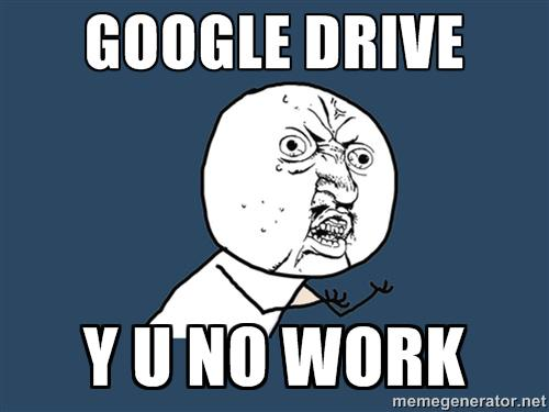 The Day #GoogleDrive Went Down: @Brandfolder's 10 Favorite Twitter Reactions. http://t.co/zYkf2jmbu2 http://t.co/6bztVugrRU