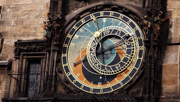 FOTO Orologio astronomico di Praga.