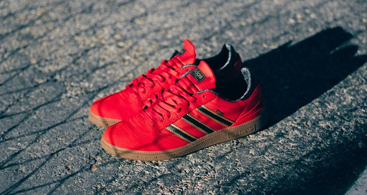 new style 51376 c9d61 skate in style this fall with this red busenitz pro gore tex from adidas