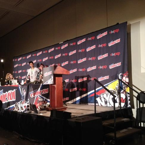 Harry Shum Jr. speaking of playing Magnus: 'I have hair that can reach the heavens.' http://t.co/eq70SUJyBq