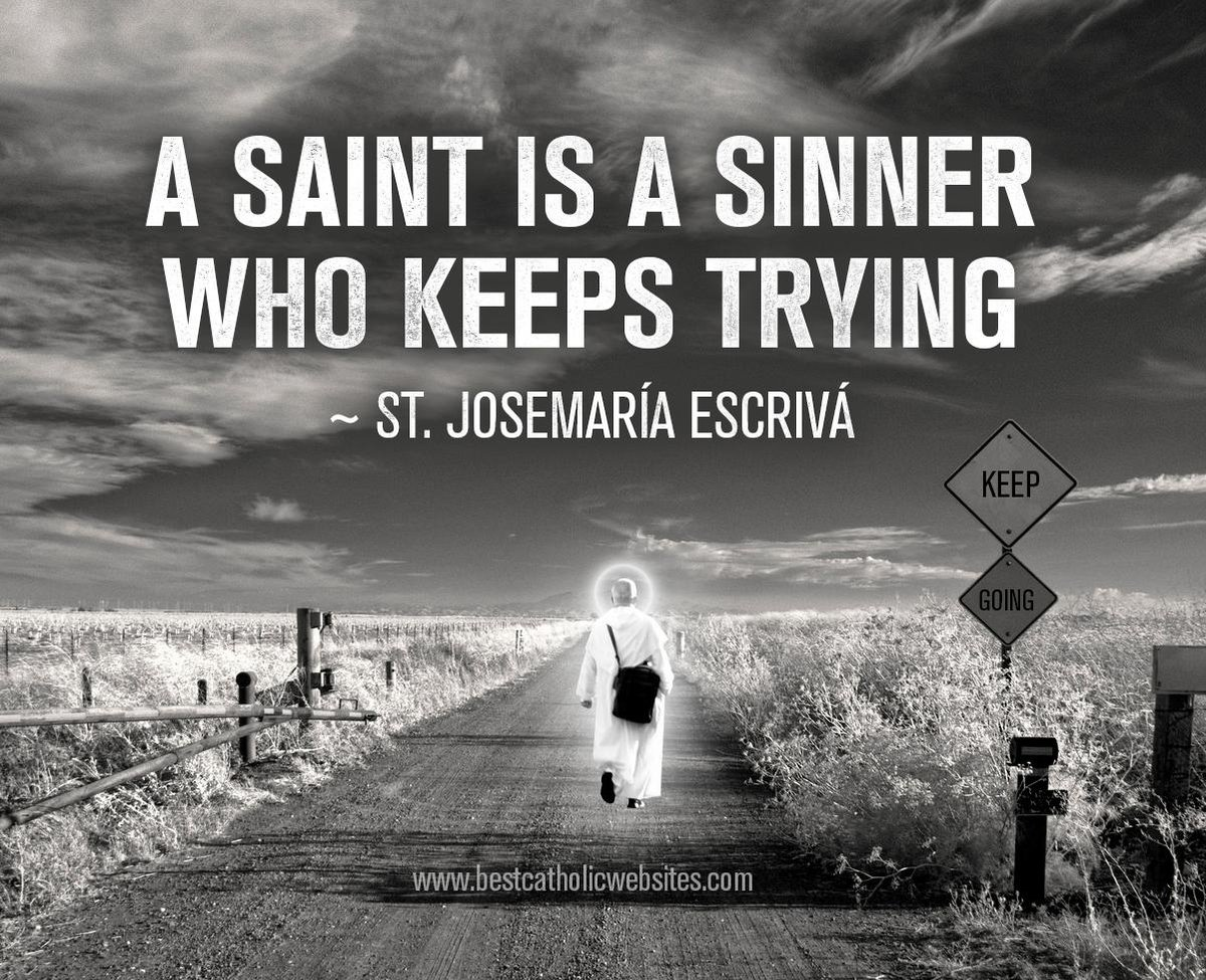 Fisher S Net Awards On Twitter A Saint Is A Sinner Who Keeps Trying Http T Co Xl3mfg6khk