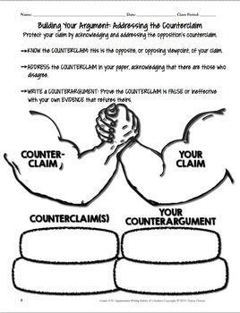 common core argumentative essay rubric