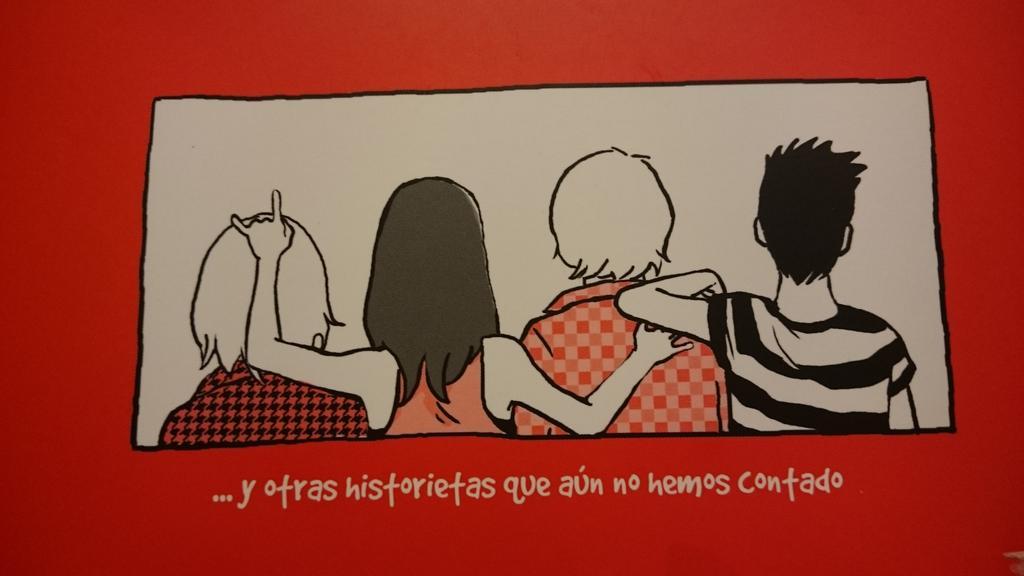 Empieza @SangreFucsia sobre infancia trans! Imagen de @susannamarteen ;-) http://t.co/qxhUUGIFjh