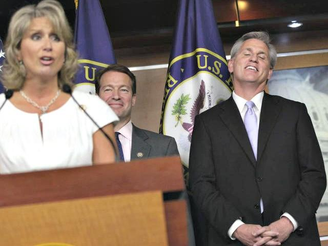 Renee Ellmers affair – resigning with McCarthy?