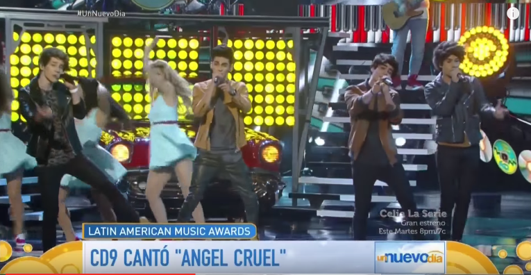 ¡Triunfa @somosCD9 en los Latin American Music Awards! (Video) http://t.co/nRYhp7S4BF http://t.co/B2JLF3M73K