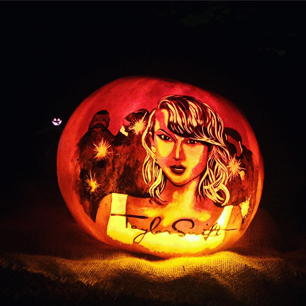 16 Taylor Swift Pumpkins