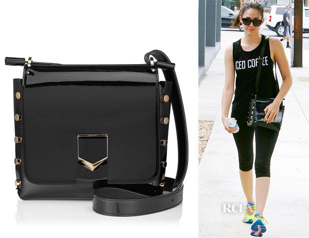 dc2b8173d73f Emmy rossum jimmy choo lockett cross body bag - scoopnest.com
