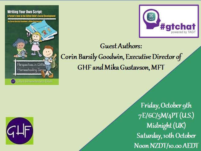"T-10 till #gtchat - we'll be chatting today about ""Writing Your Own Script"" http://t.co/otAGUIeu3h"