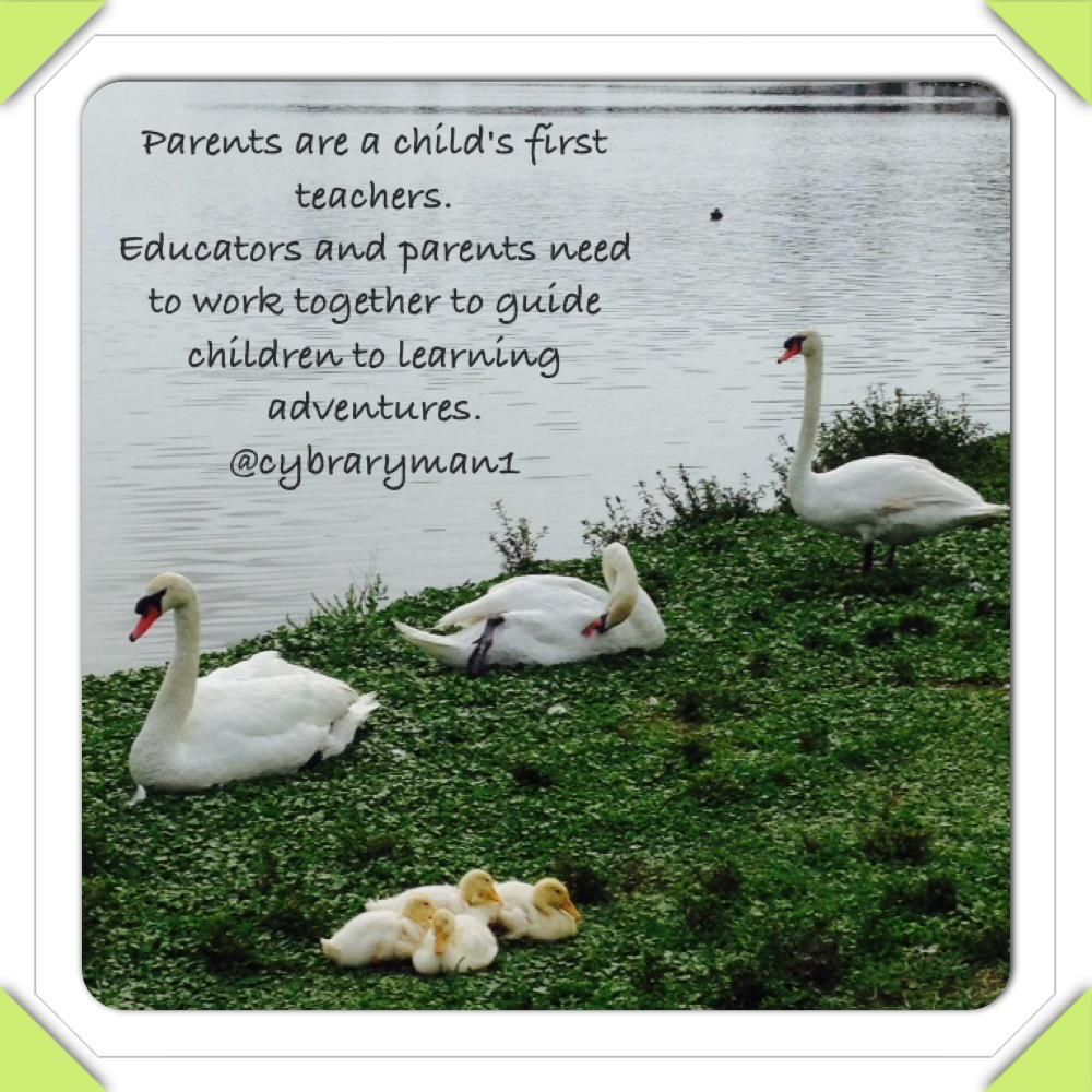 Educators need to work more closely with a child's first and main teacher their parents.  #gtchat http://t.co/3Sogc5uCLv