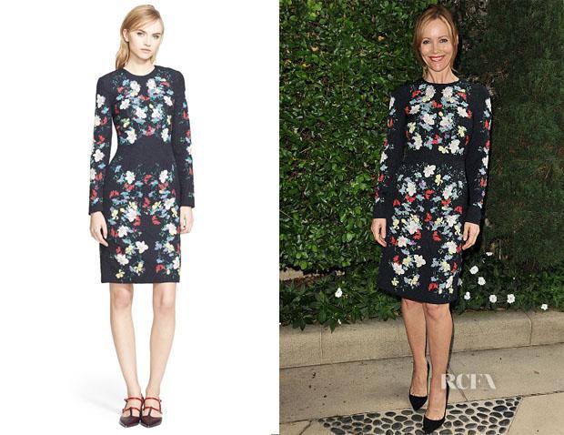 Leslie Mann's Erdem Evita Dress http://t.co/rqYHjPqIfh http://t.co/1MuYdS6NPD