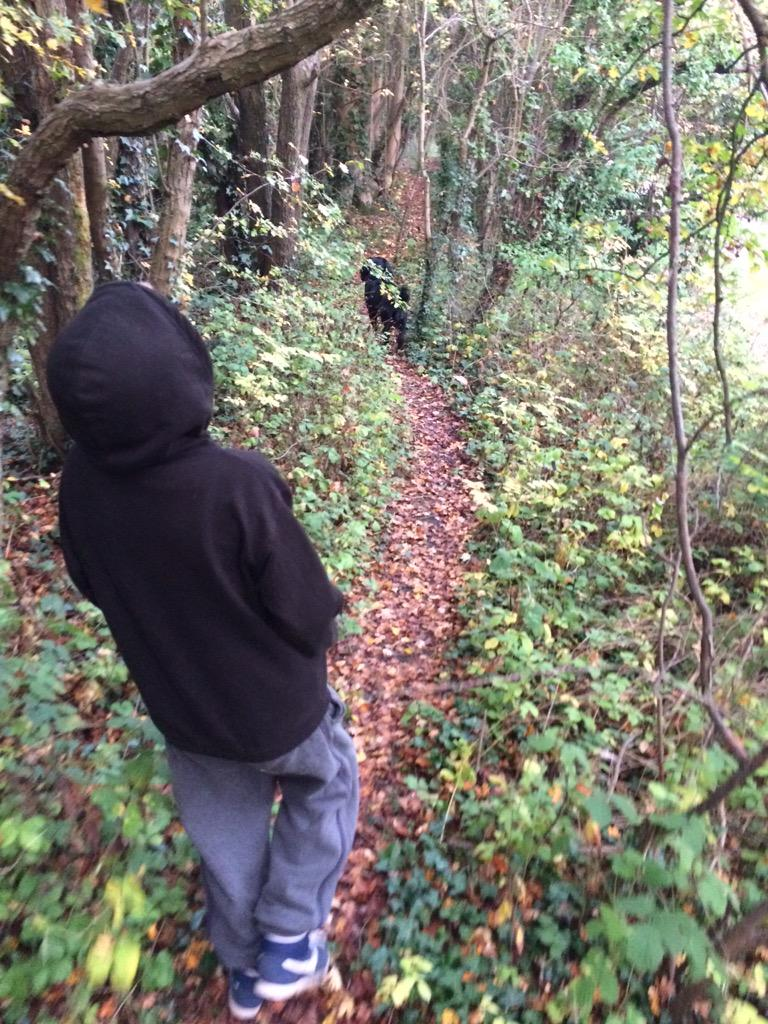 RT @christianbaker: Morning adventure with my boys #walking http://t.co/alaeXH1RCV