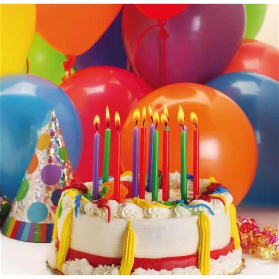 Картинка с днем рождения торт и шары, ожидании малыша девочки
