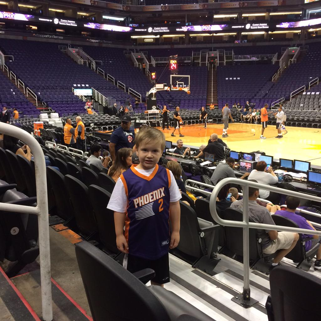 Eli's first Suns game🏀