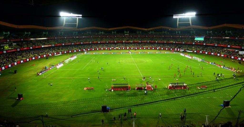 #Swazzy View of our home pitch before the game