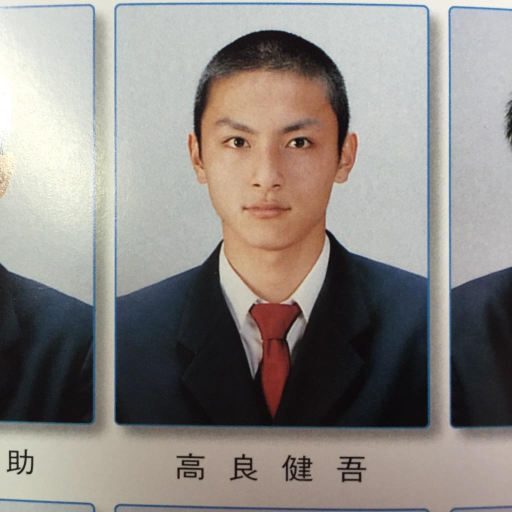 学生時代の高良健吾