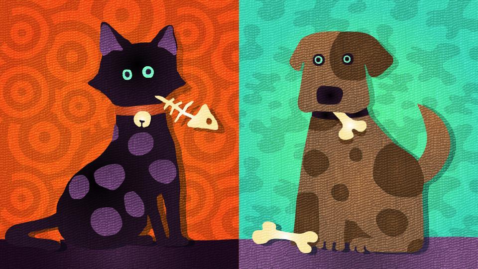 [北米] 第1回 「猫 vs 犬」