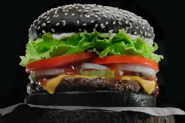 .@BurgerKingUK's limited-edition black Whopper to haunt UK until 31st October http://t.co/QreHZbLhBE @MarketingUK http://t.co/ltXcfrNdsE