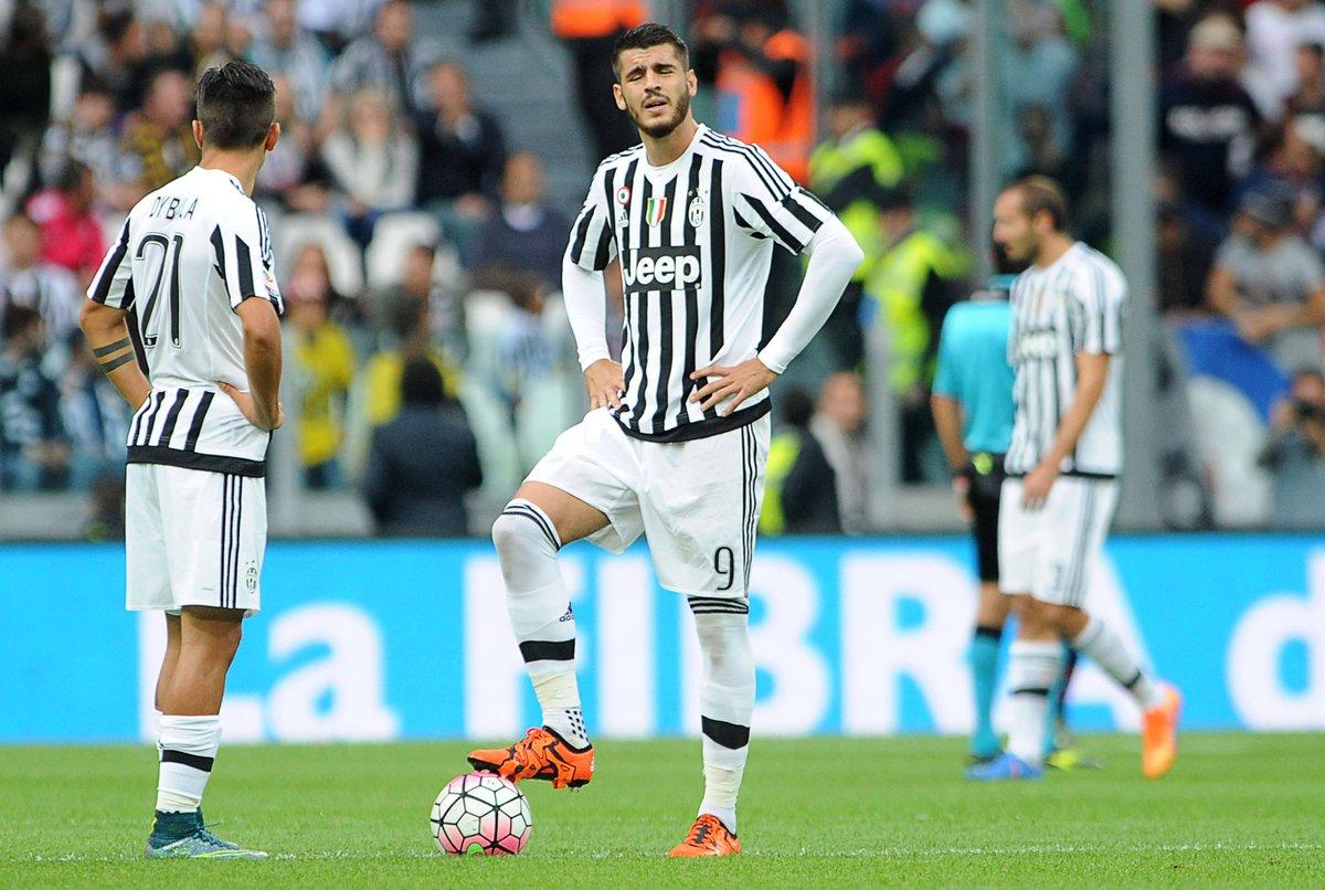 Inter-Juventus con Morata, ma forse no