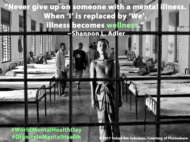 It's #WorldMentalHealthDay and we support #DignityinMentalHealth http://t.co/ZOYLM1cAhd