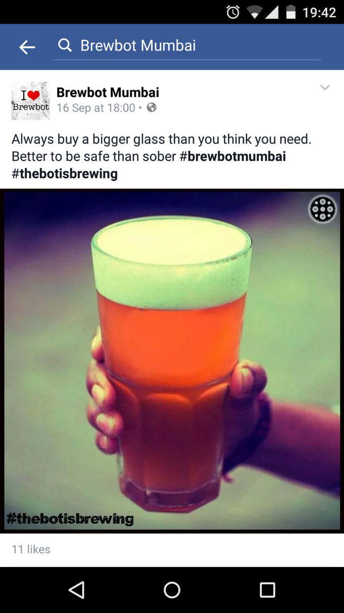 Hey @godoolally, your beers are so photogenic that @brewbotmumbai is passing them off as their own. Dat photoshop tho http://t.co/C8JBKXpGHy