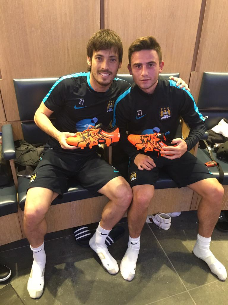 Ready for the champions with the new #x15 and the future star @patrick7roberts! #BeTheDifference @adidasfootball http://t.co/4vI6pwDe6q