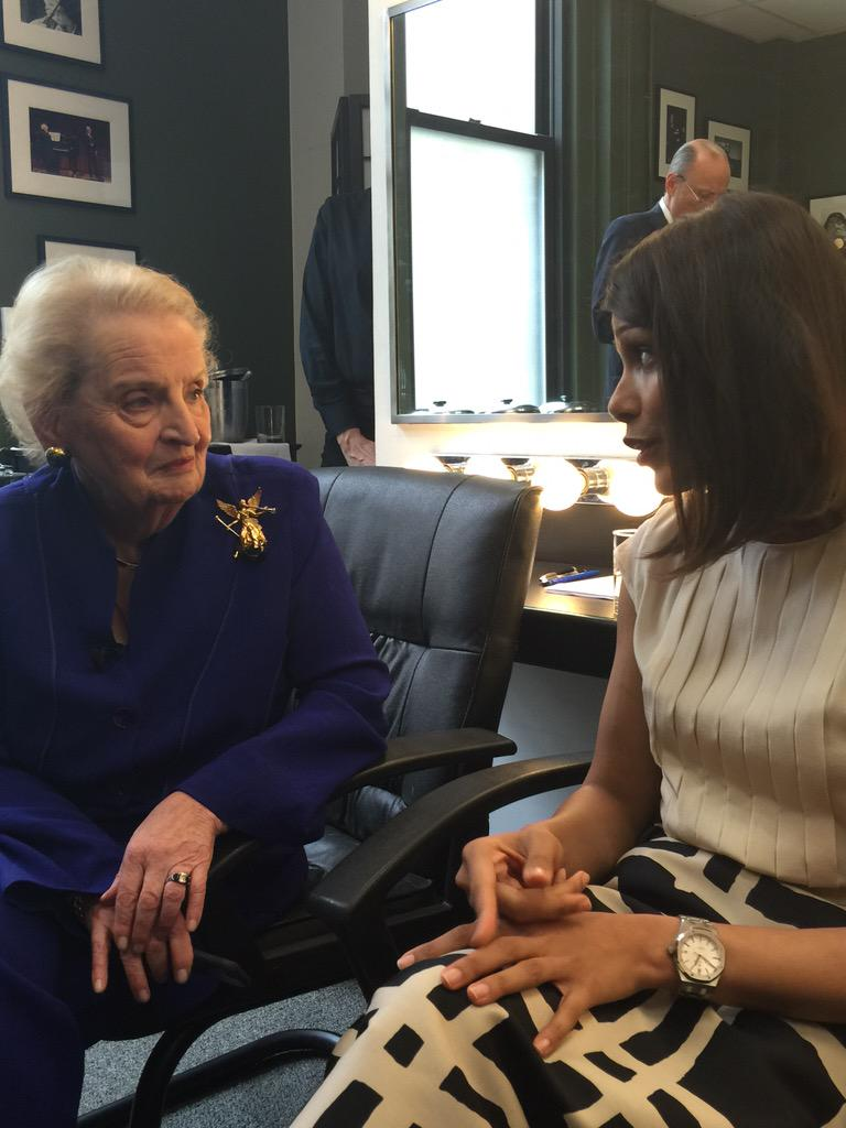 . @madeleine & @BecauseImFreida doing a TwitterChat on #Feminism at Social Good Summit #2030Now http://t.co/hkJSX4GhGJ