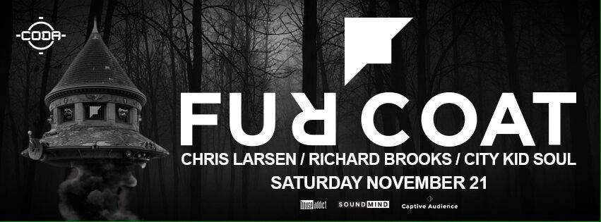 JUST LISTED ~ @furcoatmusic November 21!!