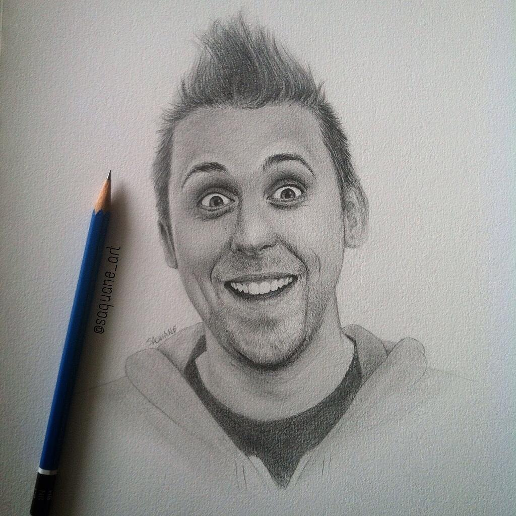 Saquaneart On Twitter Quot Roman Atwood Drawing Comparison