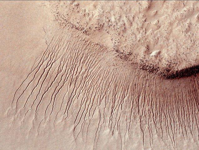 """NASA: """"c'è acqua su Marte"""". E se c'è Acqua, ci sarà pure vita extraterrestre?"""