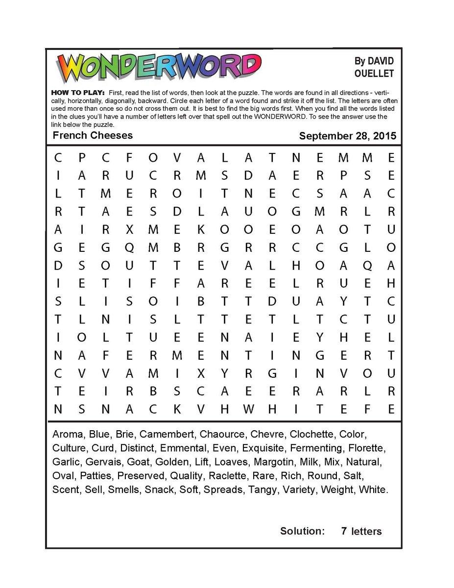 Wonderword Games (@WonderwordFUN) | Twitter