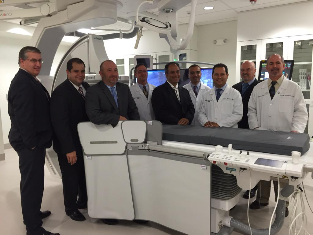 fabio on twitter new interventional radiology suite at cleveland clinic florida httptcom7nhmuqp28