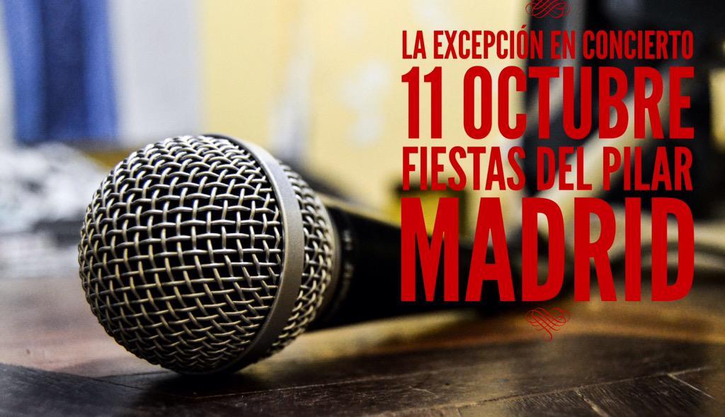 11 oct @LaExcepcion_ en las fiestas del Barrio del Pilar (Madrid) @GitanoAnton @Langui_Oficial y la Peñita al Compás http://t.co/cNyKhgcLAi