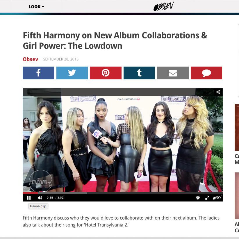 So much fun meeting @FifthHarmony & interviewing them! Video http://t.co/oPMiodVuzd http://t.co/RauPCHlLZB